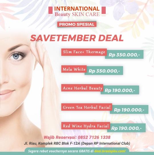 International Beauty Skin Care Savetember Deal