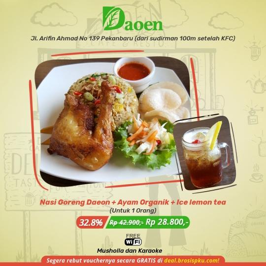 Daoen Cafe Resto Nasi Goreng Deal