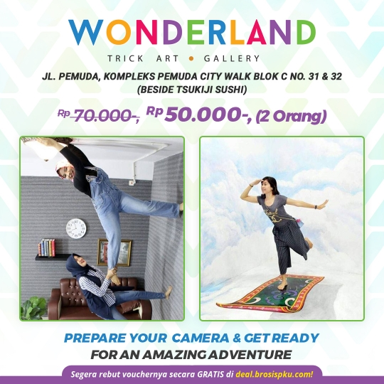 Wonderland Trick Art Deal