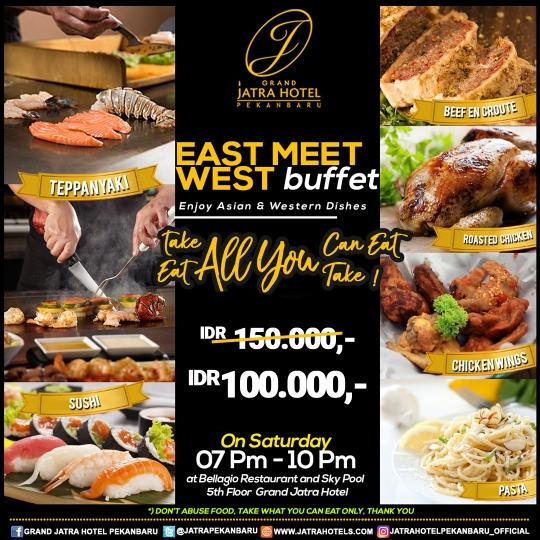 Jatra East Meet West Buffet Deal (saturday Only)