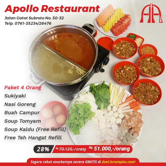 Apollo Restaurant Sukiyaki Deal