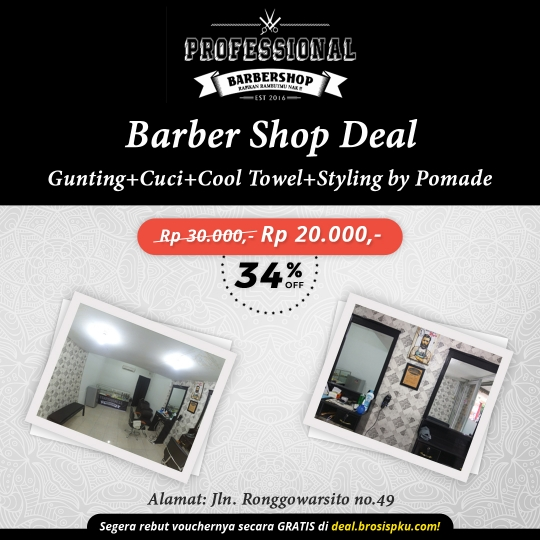 Professional Barber Shop Cabang Panam Deal