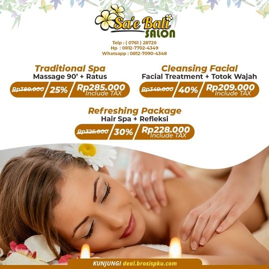 Sae Bali Salon Grand Opening Deal