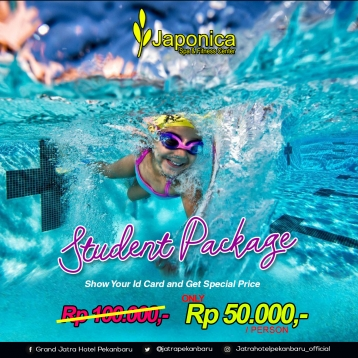 Japonica Student Package Swimming Deal