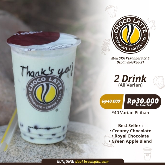 Choco Latte Best Seller Deal