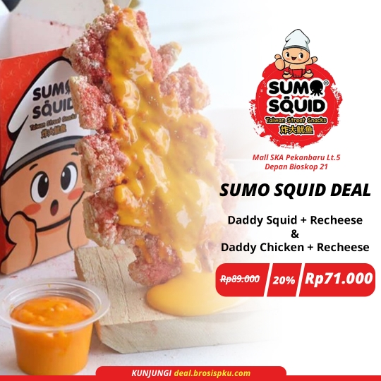 Sumo Squid Recheese Deal