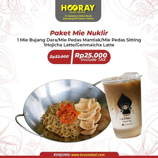 Hooray Pojok Kuliner Mie Nuklir Deal