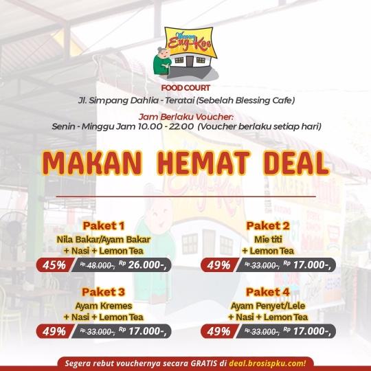 Waroeng Eng Koe Makan Hemat Deal