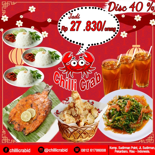 Chilli Crab Bertiga Deal