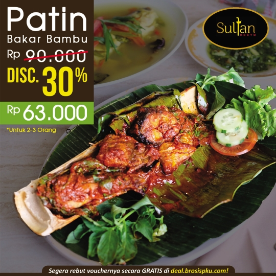 Sultan Resto Patin Bakar Deal