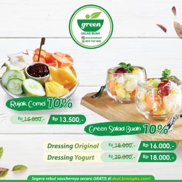 Green Salad Buah Deal