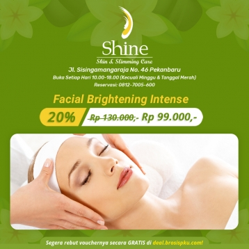Shine Clinic Facial Brightening Intense Deal