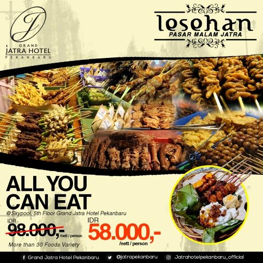 Lesehan Pasar Malam Jatra Deal