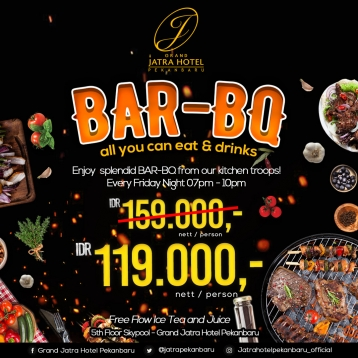 Grand Jatra Bar-bq Deal (friday Only)