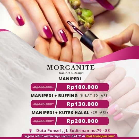 Morganite Nail Parlour Deal