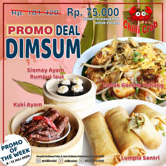 Chilli Crab Dimsum Deal