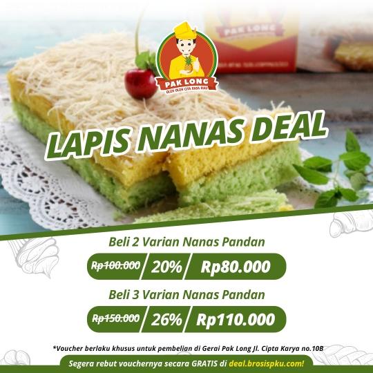 Lapis Nanas Pak Long Deal