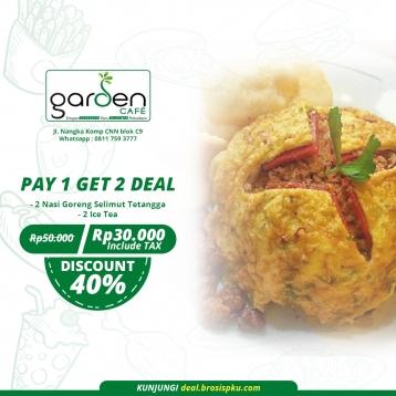 Garden Cafe Selimut Tetangga Deal
