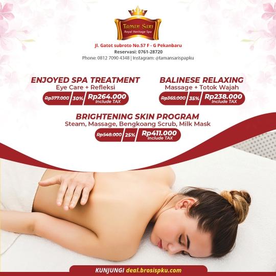 Taman Sari Royal Heristage Spa Deal