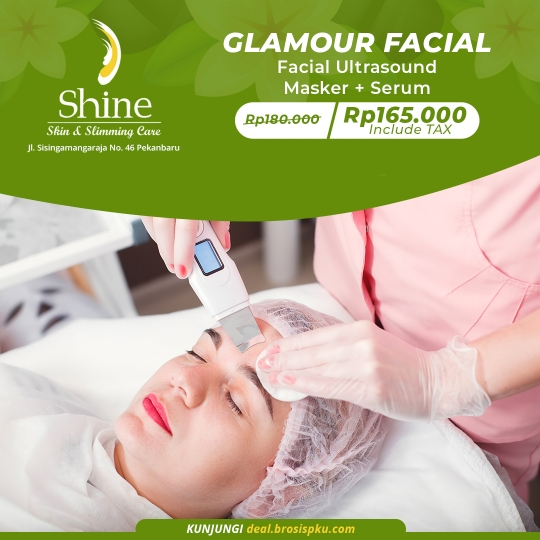 Shine Clinic Glamour Facial Deal