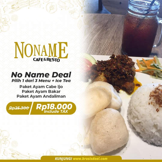 Noname Cafe & Resto Deal