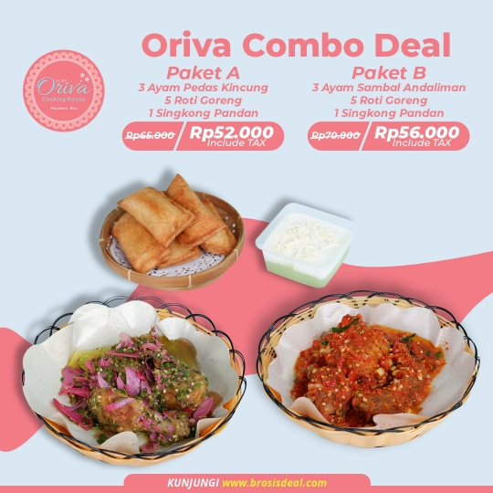 Oriva Cooking House Combo Deal