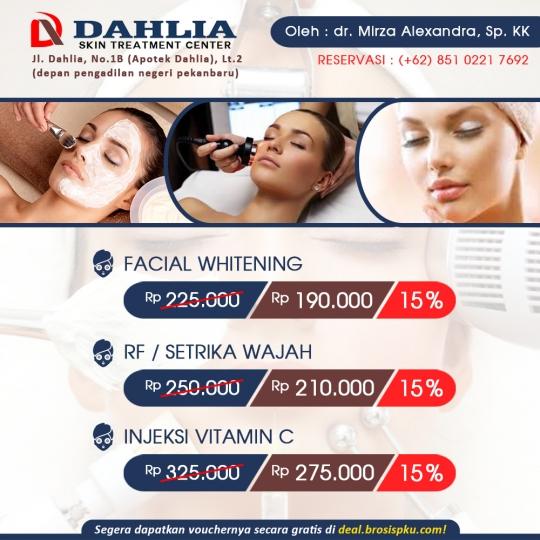 Dahlia Skincare Deal