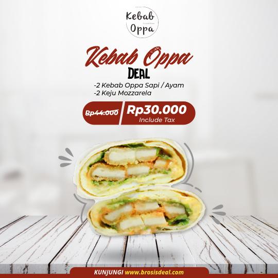 Kebab Oppa Deal