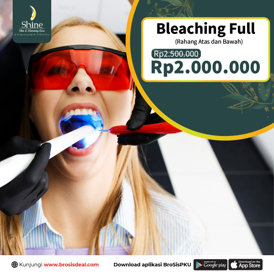 Shine Clinic Bleaching Deal