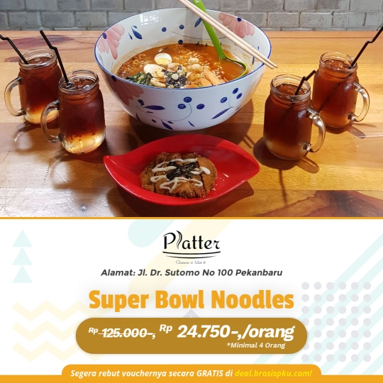 Platter Super Bowl Noodle Deal