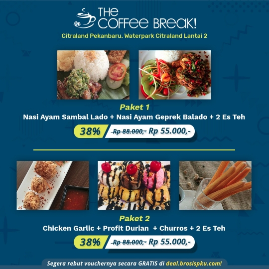The Coffee Break Berdua Deal