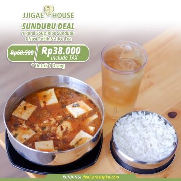 Jjigae House Sundubu Deal