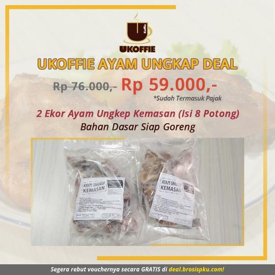 Ukoffie Ayam Ungkep Deal