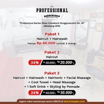 Professional Barber Shop Deal