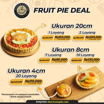 Anna's Coffee Fruit Pie Deal