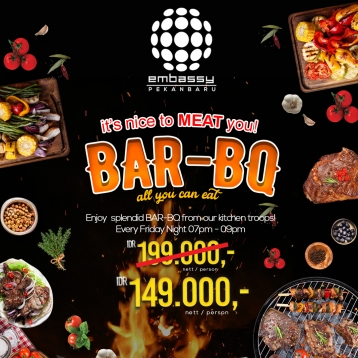 Embassy Bar-bq All You Can Eat Deal