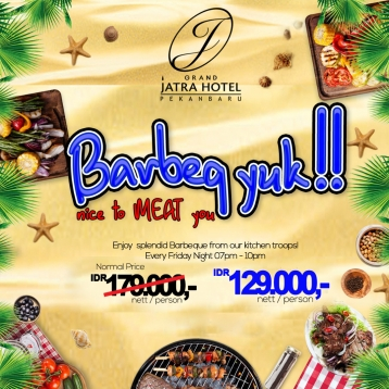 Jatra Barbeq Yuk Deal (friday Only)