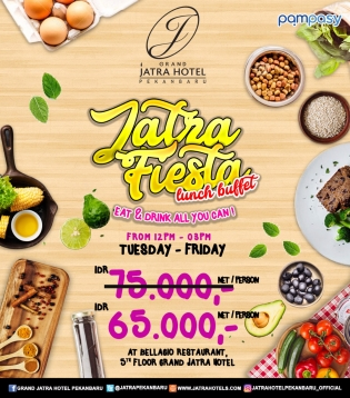 Grand Jatra Fiesta Lunch Buffet Deal (tuesday-friday)