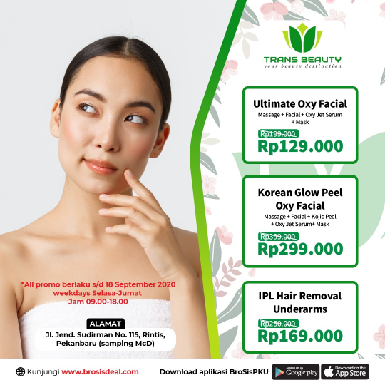 Trans Beauty Clinic Deal (tuesday - Friday)