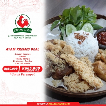 Warung Djago Ayam Kremes Deal