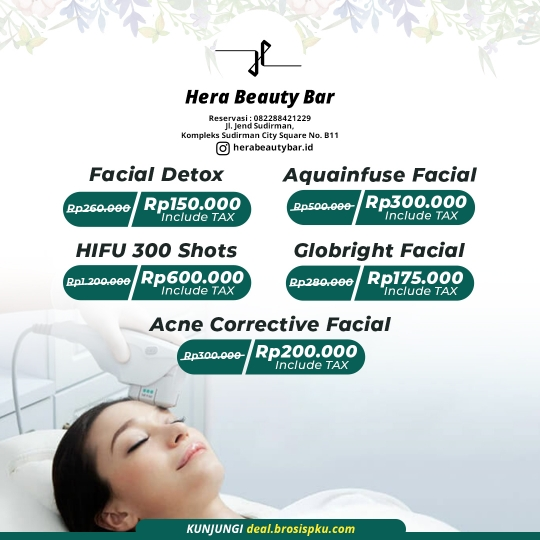 Hera Beauty Bar Treatment Deal