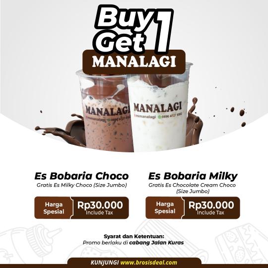 Es Manalagi Buy 1 Get 1 Deal