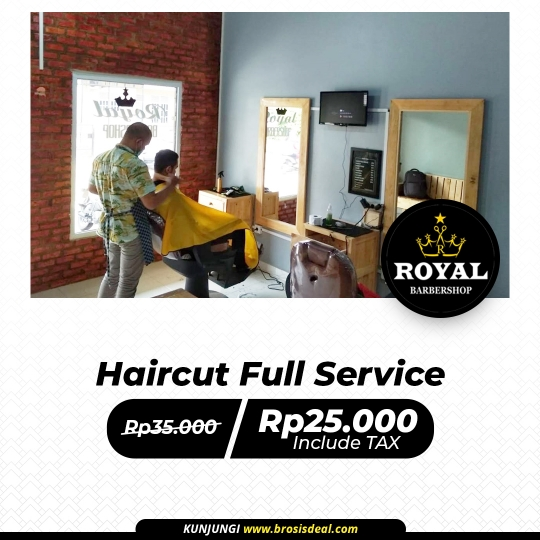 Royal Barbershop Full Service Deal
