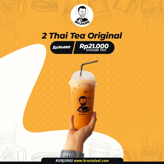 Kopi Susu Bujang Thai Tea Deal