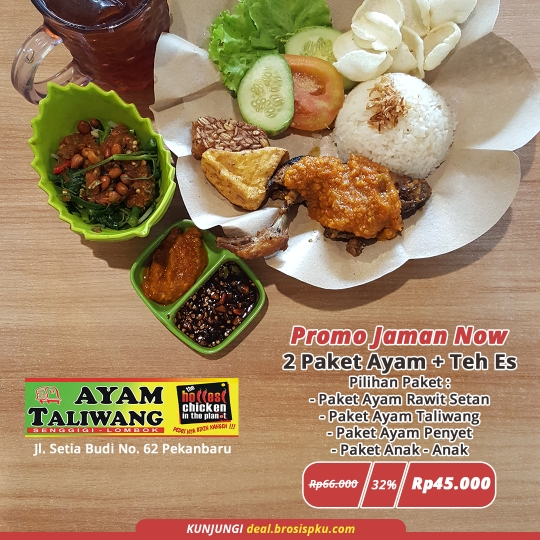 Ayam Taliwang Jaman Now Deal