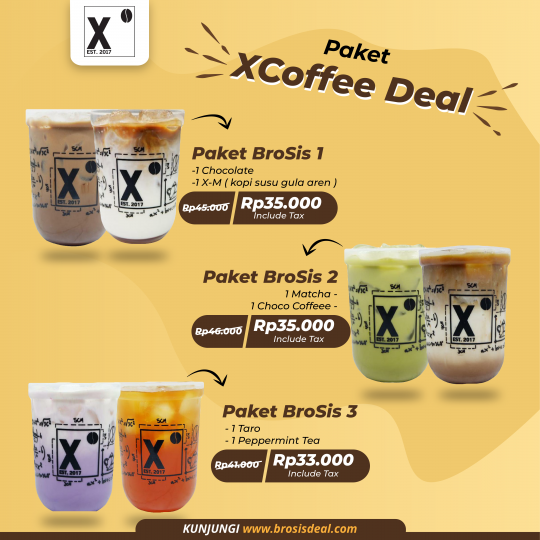 Xcoffee Living World Brosis Deal