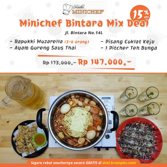 Kantin Minichef Bintara Mix Deal