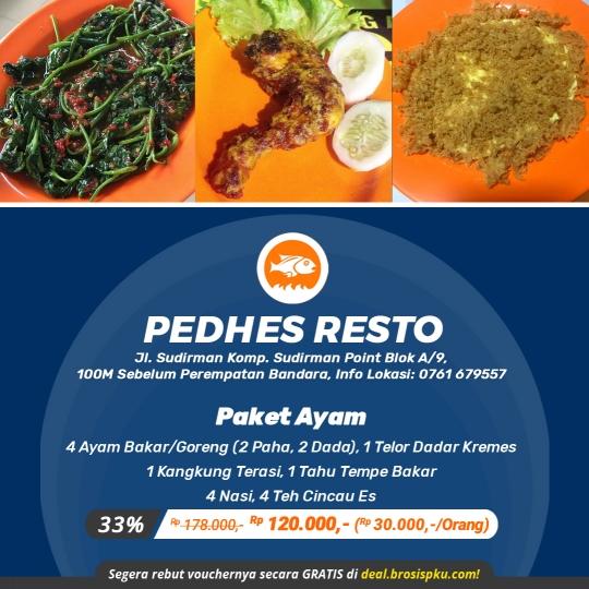Pedhes Resto Paket Ayam Deal