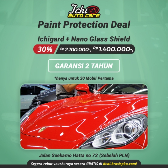 Ichi Autocare Paint Protection Deal