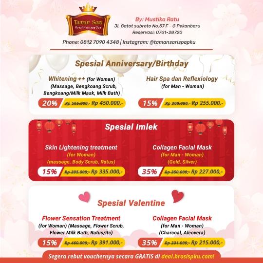 Taman Sari Royal Heritage Spa Gift Deal